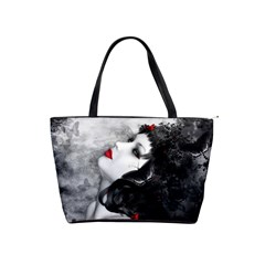 Black Rose Fantasy Shoulder Bag from Fantasy Art Front