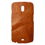 Brown Embossed Leather Texture Samsung Galaxy Nexus i9250 Hardshell Case