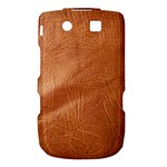 Brown Embossed Leather Texture BlackBerry Torch 9800 9810 Hardshell Case