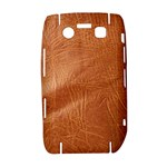 Brown Embossed Leather Texture BlackBerry Bold 9700 Hardshell Case