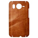 Brown Embossed Leather Texture HTC Desire HD Hardshell Case