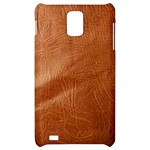 Brown Embossed Leather Texture Samsung Infuse 4G Hardshell Case