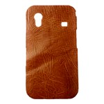 Brown Embossed Leather Texture Samsung Galaxy Ace S5830 Hardshell Case