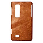 Brown Embossed Leather Texture LG Optimus 3D P920 / Thrill 4G P925 Hardshell Case