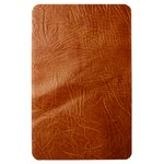 Brown Embossed Leather Texture Kindle Fire Hardshell Case