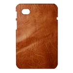 Brown Embossed Leather Texture Samsung Galaxy Tab 7  P1000 Hardshell Case