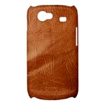 Brown Embossed Leather Texture Samsung Galaxy Nexus S i9020 Hardshell Case