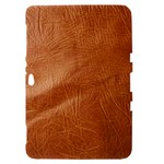 Brown Embossed Leather Texture Samsung Galaxy Tab 8.9  P7300 Hardshell Case