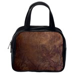 Gritty Brownstone Classic Handbag (One Side)
