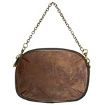 Gritty Brownstone Chain Purse (Two Sides)