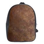 Gritty Brownstone School Bag (Large)