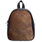 Gritty Brownstone School Bag (Small)