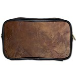 Gritty Brownstone Toiletries Bag (One Side)