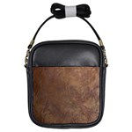Gritty Brownstone Girls Sling Bag