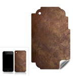 Gritty Brownstone Apple iPhone 3G 3GS Skin