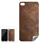 Gritty Brownstone Apple iPhone 4 Skin