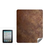 Gritty Brownstone Apple iPad Skin