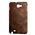 Gritty Brownstone Samsung Galaxy Note Hardshell Case