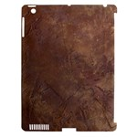 Gritty Brownstone Apple iPad 3 Hardshell Case (Compatible with Smart Cover)