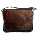 Gritty Brownstone Messenger Bag