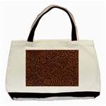 Flowers And Swirls Classic Tote Bag (Two Sides)