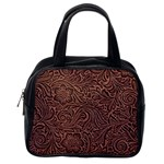 Flowers And Swirls Classic Handbag (One Side)