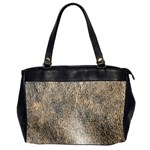 Ll Brown Oversize Office Handbag (Two Sides)