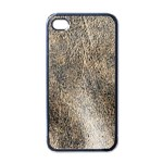 Ll Brown Apple iPhone 4 Case (Black)