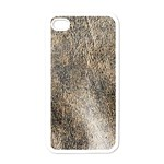 Ll Brown Apple iPhone 4 Case (White)