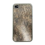 Ll Brown Apple iPhone 4 Case (Clear)