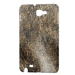 Ll Brown Samsung Galaxy Note Hardshell Case