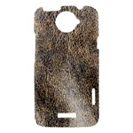 Ll Brown HTC One X Hardshell Case