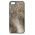 Ll Brown Apple iPhone 5 Seamless Case (Black)