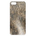 Ll Brown Apple iPhone 5 Seamless Case (White)