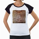 Ll Alligator Macro Women s Cap Sleeve T