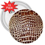 Ll Alligator Macro 3  Button (10 pack)