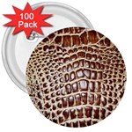 Ll Alligator Macro 3  Button (100 pack)