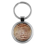 Ll Alligator Macro Key Chain (Round)