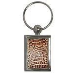 Ll Alligator Macro Key Chain (Rectangle)