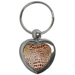 Ll Alligator Macro Key Chain (Heart)