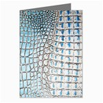 Ll Alligator Blue Greeting Cards (Pkg of 8)