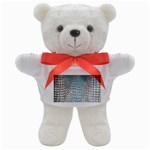Ll Alligator Blue Teddy Bear