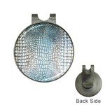 Ll Alligator Blue Golf Ball Marker Hat Clip