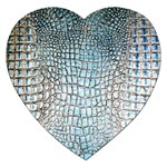 Ll Alligator Blue Jigsaw Puzzle (Heart)