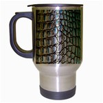 Ll Alligator Blue Travel Mug (Silver Gray)