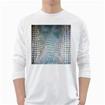 Ll Alligator Blue Long Sleeve T-Shirt