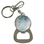 Ll Alligator Blue Bottle Opener Key Chain