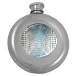Ll Alligator Blue Hip Flask (5 oz)