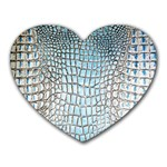 Ll Alligator Blue Mousepad (Heart)