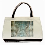 Ll Alligator Blue Classic Tote Bag (Two Sides)